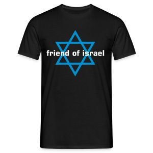 friend of israel - Männer T-Shirt