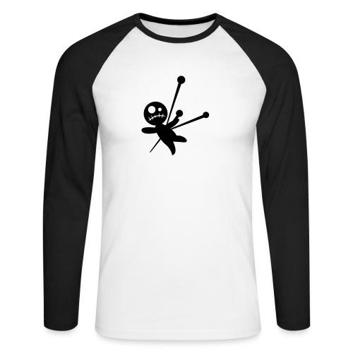 Voodoo - Langermet baseball-skjorte for menn