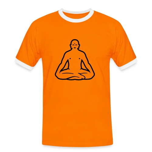 Buddha - Männer Kontrast-T-Shirt