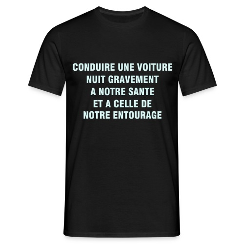 Nuit gravement... power-reflex - T-shirt Homme