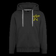 Pullover & Hoodies ~ Männer Premium Kapuzenjacke ~ Kapuzenjacke (Reissverschluss)