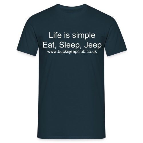 Life is Simple T - Men's T-Shirt