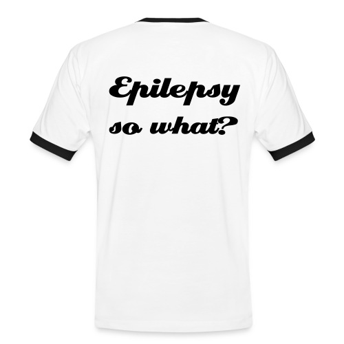 Epilepsy so what? - Männer Kontrast-T-Shirt