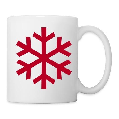 Schneeflocke - Tasse