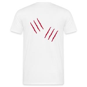 Kratzspuren - Männer T-Shirt