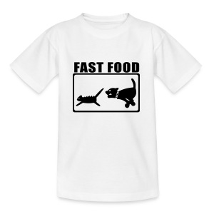 Fast Food - Teenager T-Shirt