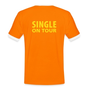 Single on Tour - Männer Kontrast-T-Shirt
