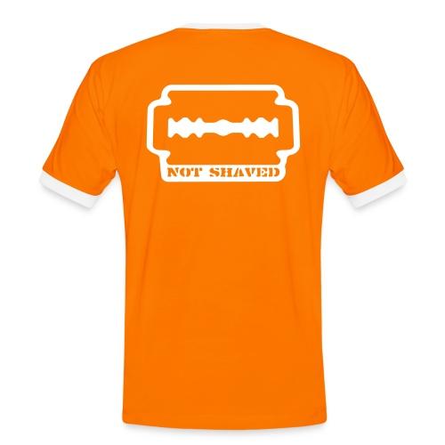 Not shaved! - Männer Kontrast-T-Shirt