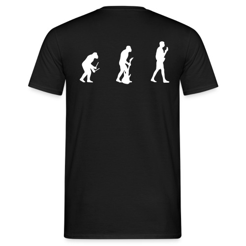 Music evolution t-shirt - T-shirt Homme