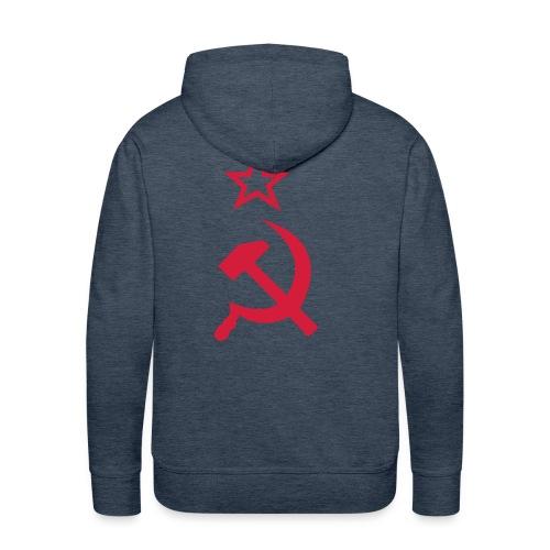 Men's Premium Hoodie - Hammer and sickel hoodie