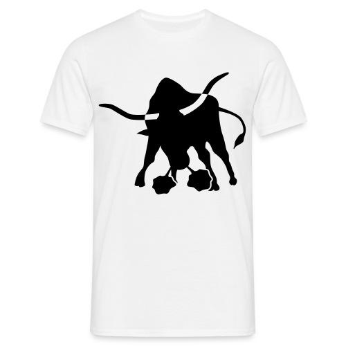 Stier gross - Männer T-Shirt
