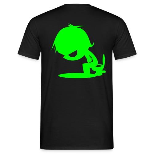 Schwarzes Shirt - Männer T-Shirt