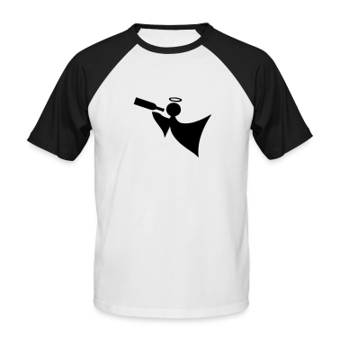 White/black Angel T-Shirts