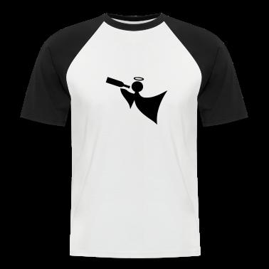 White/black Angel T-Shirts