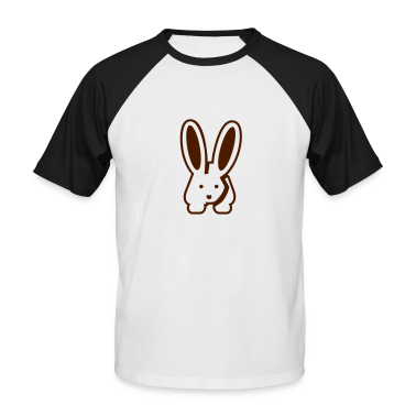 White/black Bunny 2 T-Shirts