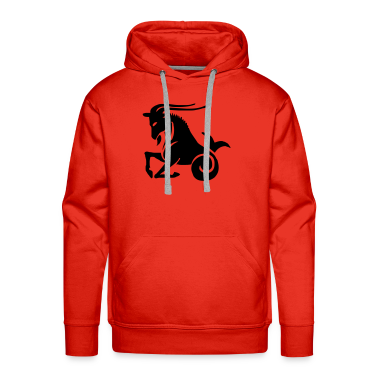 Red Capricorn Men's Longsleeves