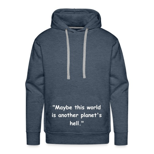 another planet's hell - Männer Premium Hoodie
