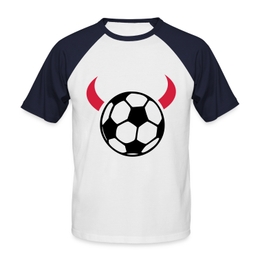 White/navy devil ball T-Shirts