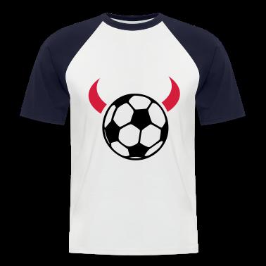 White/navy devil ball T-Shirts
