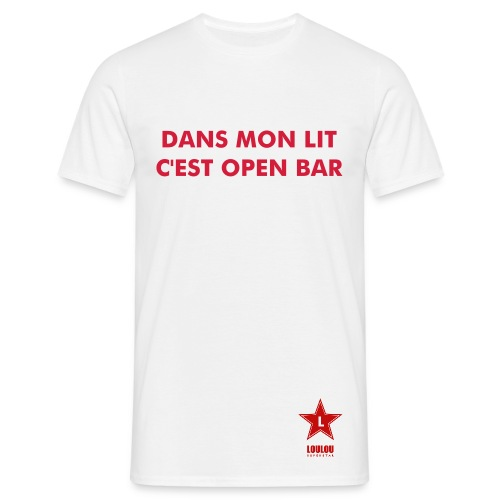T-shirt Open bar - T-shirt Homme