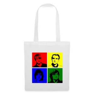 McFly Pop Art (White Shopping Bag) - Tote Bag