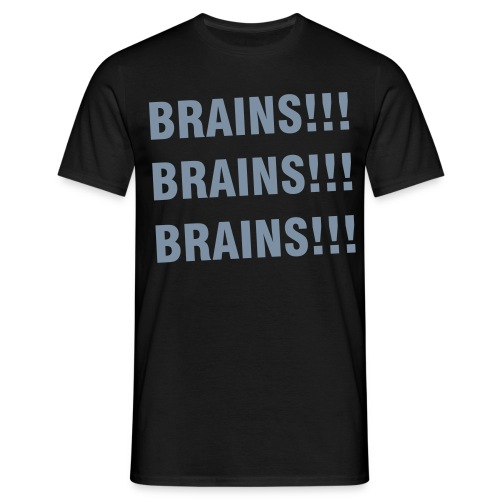 Brains! - Men's T-Shirt