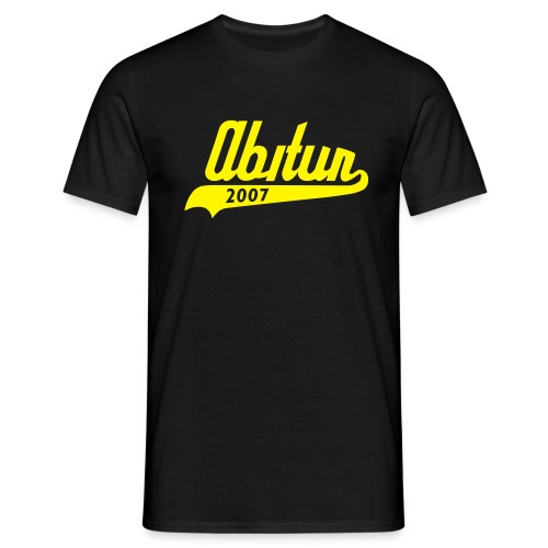 abitur 2007  - Männer T-Shirt