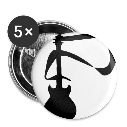 guitar - Badge petit 25 mm