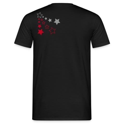 Shirt *litte stars* black - Männer T-Shirt