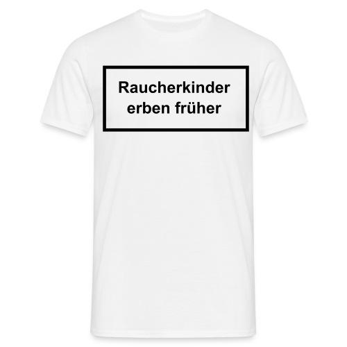 Rauchen - Männer T-Shirt