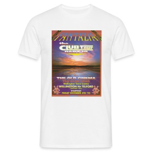 fantazia Club Tour Flyer - Men's T-Shirt