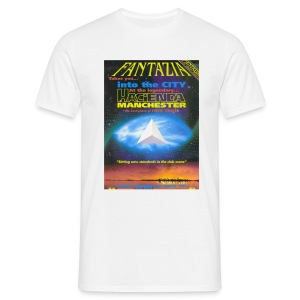 Fantazia @ The Hacidenda Flyer T-shirt - Men's T-Shirt