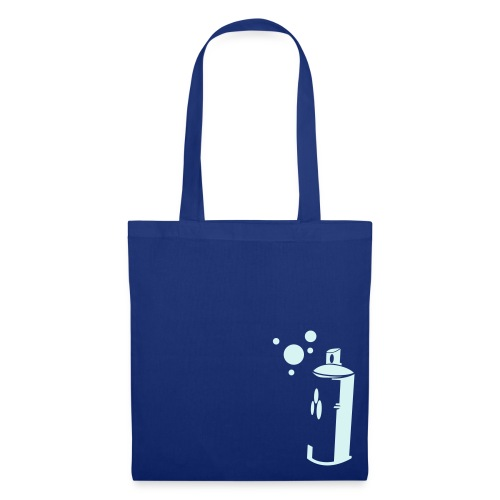 sprayer navy cottonbag - Tote Bag