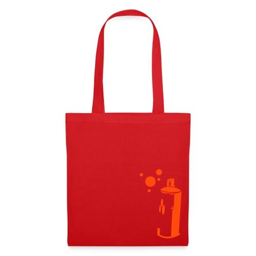 sprayer red cottonbag  - Tote Bag