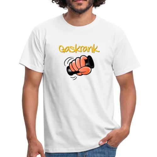 Gaskrank-Faust - Männer T-Shirt