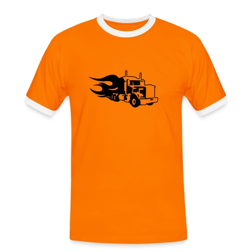 Truck Logo Mens - Men's Ringer Shirt