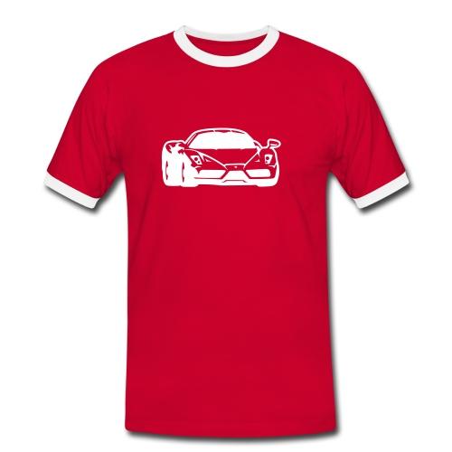 Car Logo Mens  - Men's Ringer Shirt