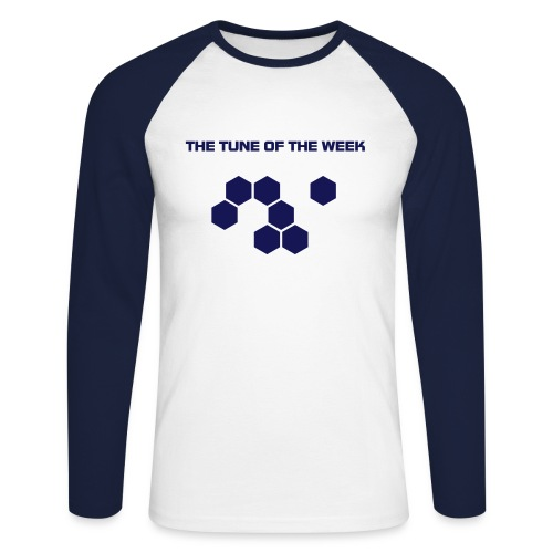 THE TUNE OF THE WEEK - Men's Long Sleeve Baseball T-Shirt