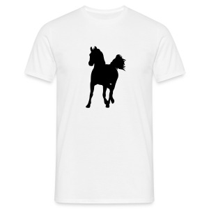 Comfort Motive-T-Shirt mit Pferd - Männer T-Shirt