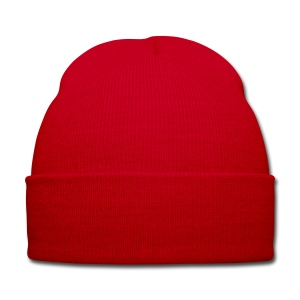 TEAM ZISSOU Plain Red Beanie Hat Costume - Winter Hat