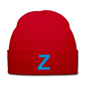 TEAM ZISSOU Red Beanie Hat Costume - Winter Hat