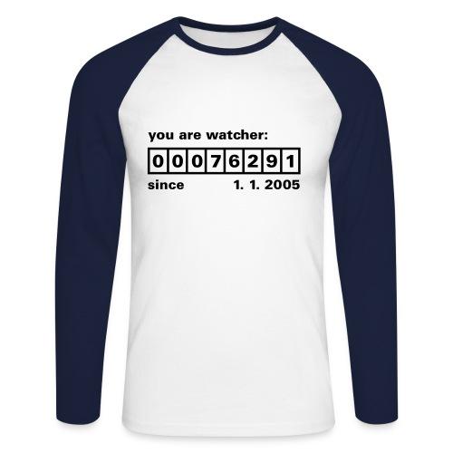 Watcher Nr.: - Männer Baseballshirt langarm