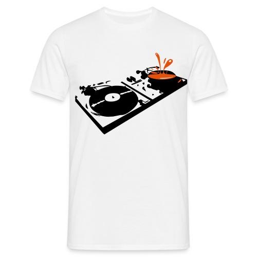 DJ Decks  - Men's T-Shirt