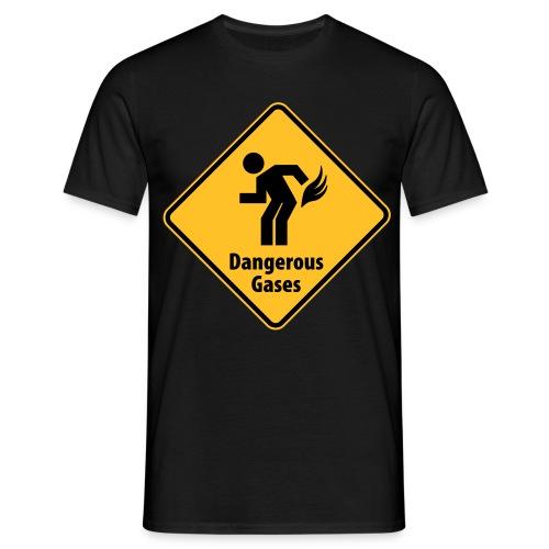 Camiseta Gases peligrosos - Camiseta hombre