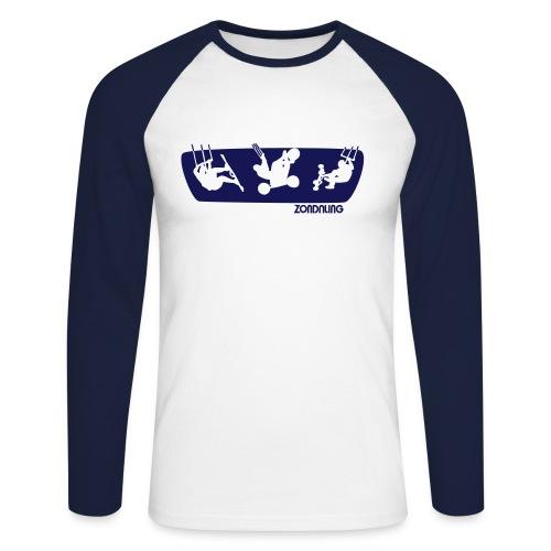 Get Big Air - Men's Long Sleeve Baseball T-Shirt
