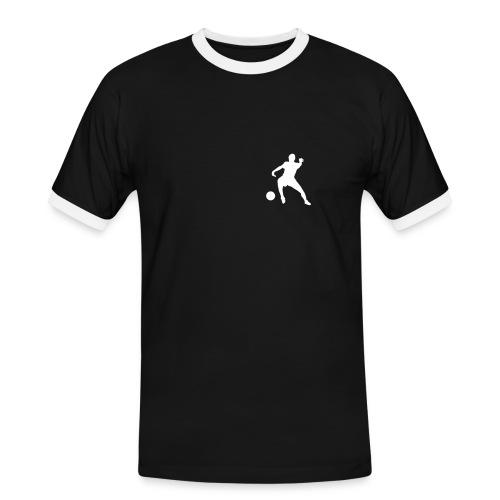 Modell Pohl - Männer Kontrast-T-Shirt