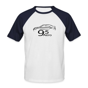 Saab 9-5 Aero Sedan - Men's Baseball T-Shirt