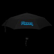 Regenschirme ~ Regenschirm (klein) ~ Regenschirm, schwarz