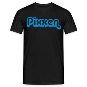 T-Shirt, schwarz - Männer T-Shirt