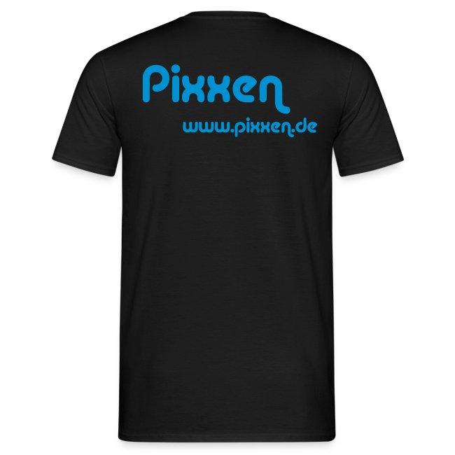 T-Shirt, schwarz